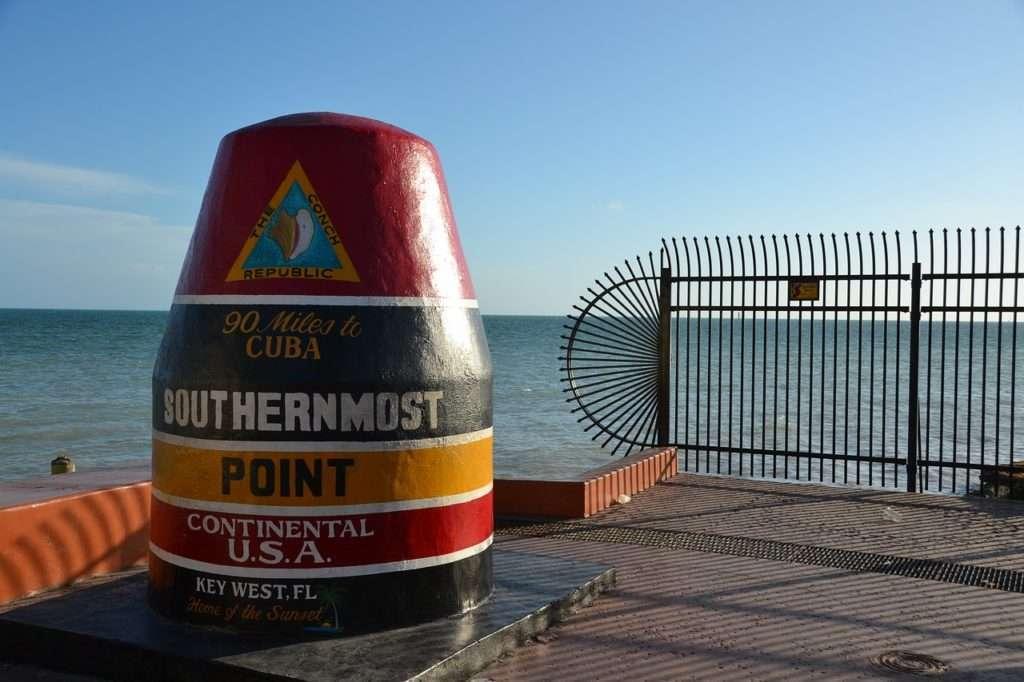 Punto più a sud - Florida