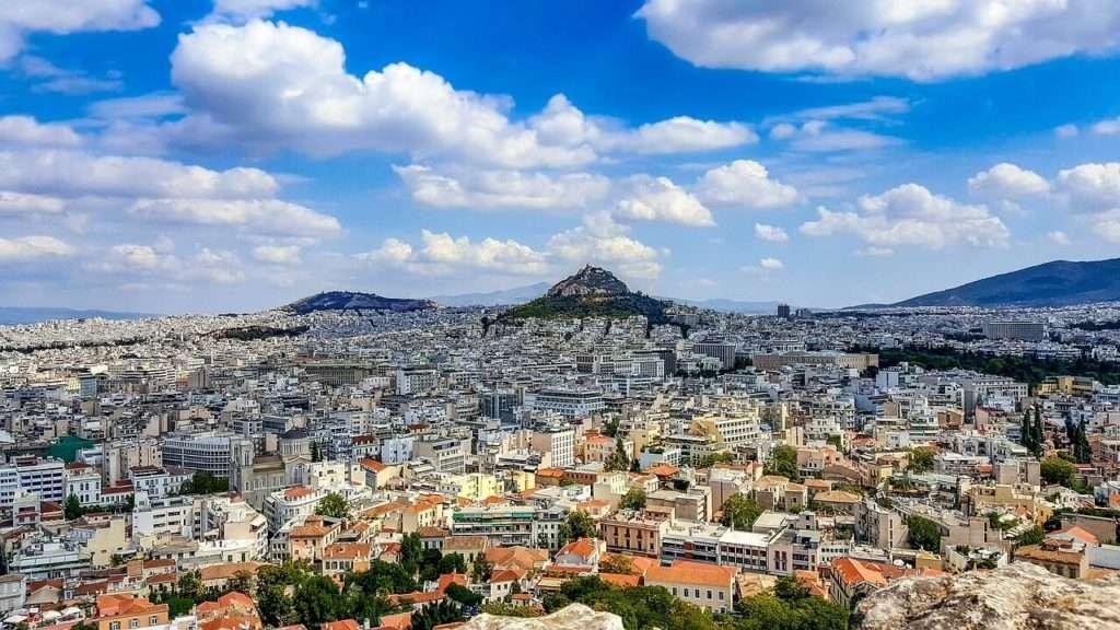 Licabetto Atene - view