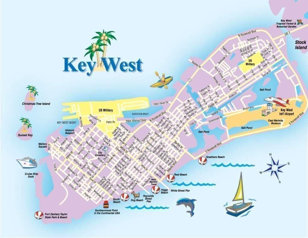 Florida Key West maps