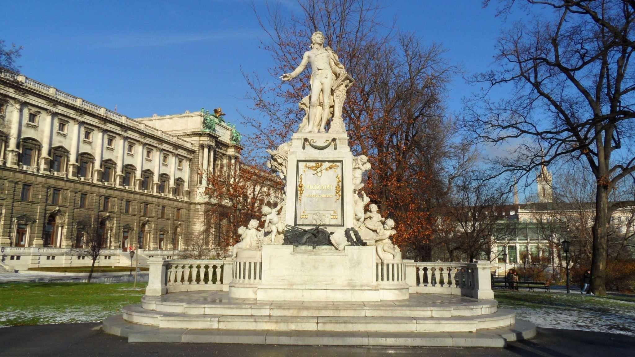 Mozart - Burggaten Wien
