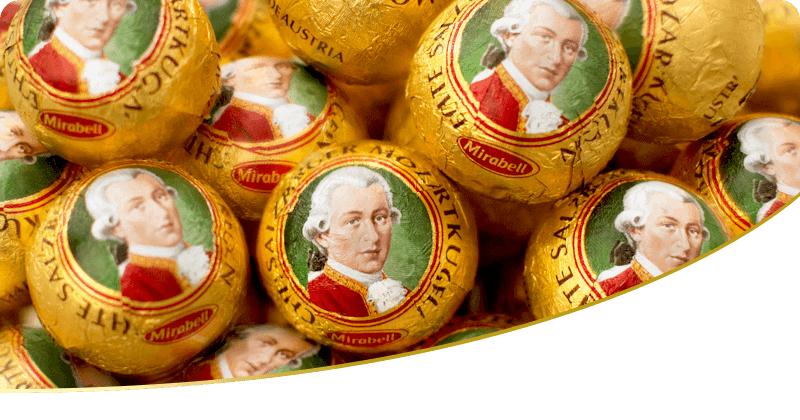 Palle di Mozart -Mozartkugeln