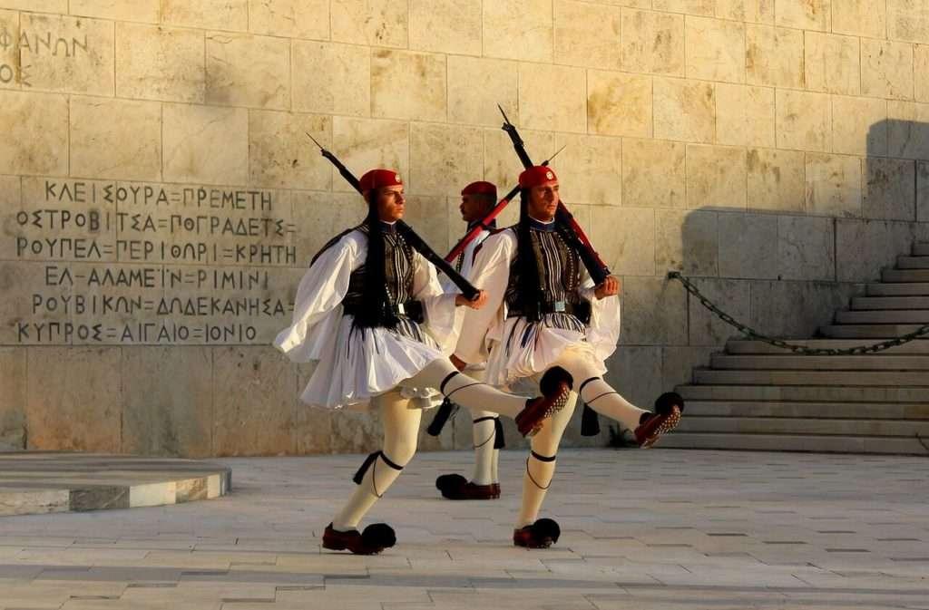 Piazza Syntagma - vedere Atene