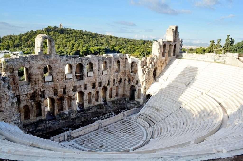 vedere Atene, teatro di Erode