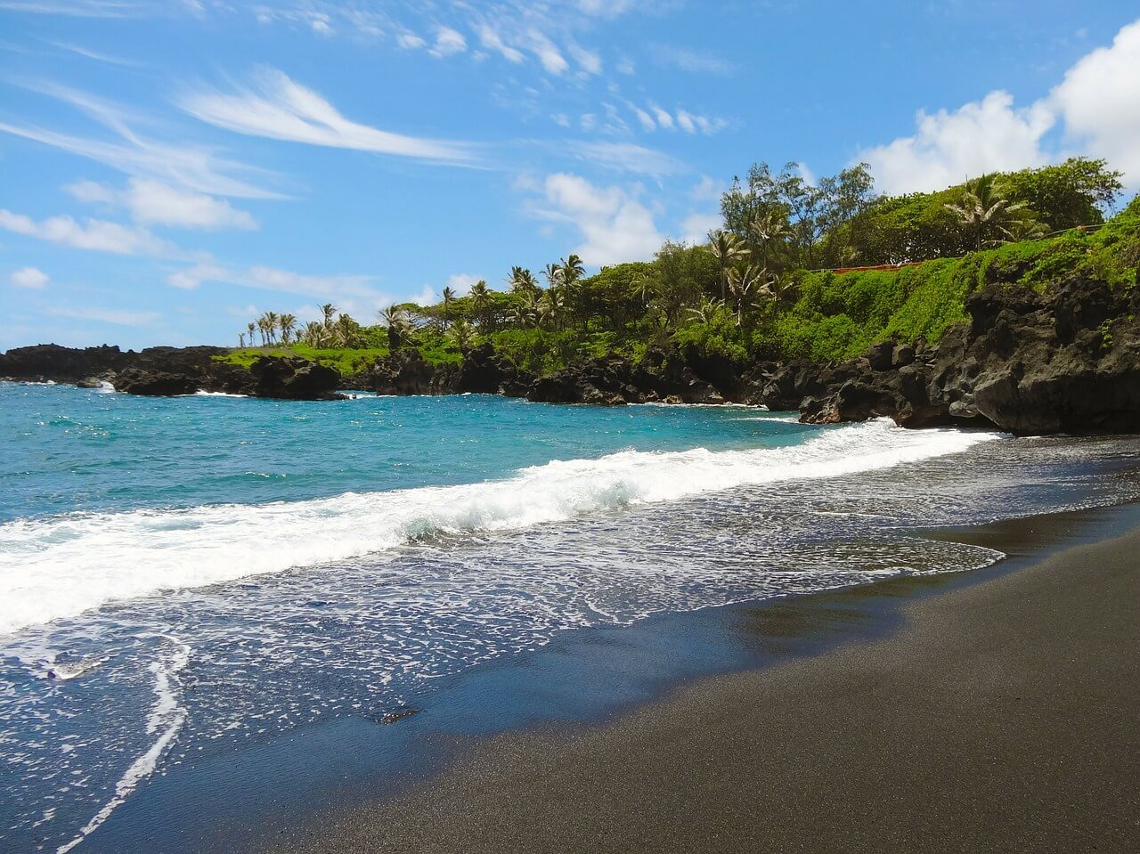 Viaggio alle Hawaii - Black Rock