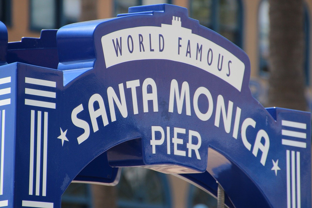 California On The Road - santa Monica