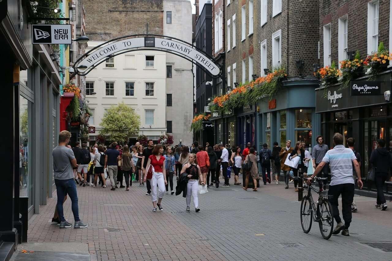 Carnaby-Street - 3 giorni a Londra